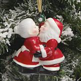 Santa and Mrs. Claus Ornament