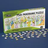 Panoramic Herb Jars Puzzle