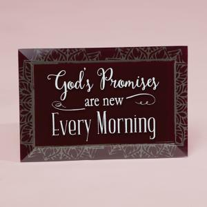 God's Promises Plaque