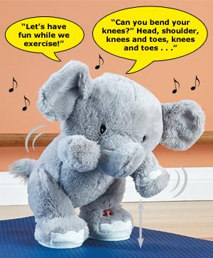 Tucker the Exercising Baby Elephant