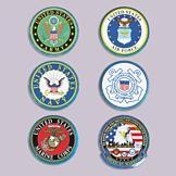 Military Logo Sticker - U.S. Army