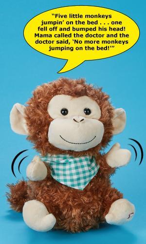 Sweet Cheeks Monkey Plush
