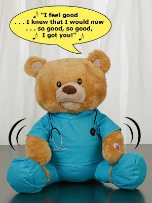 Feel Good Glenn Bear Plush