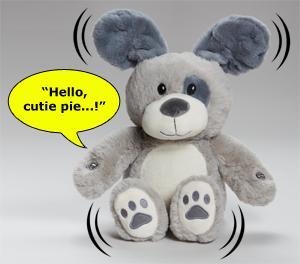 Peek-A-Boo Parker Pup Plush