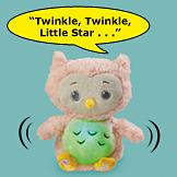 Twinkles the Musical Owl Plush