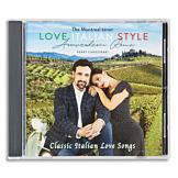 Perry Canestrari Love Italian Style CD