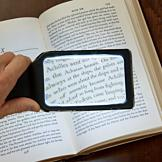 LED Magnifier with Pouch and Cleaning Cloth
