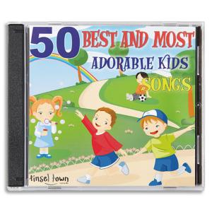 50 Best and Most Adorable Kids Songs - 2-CD Set