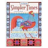 Simpler Times Coloring Book - Jim Shore