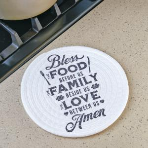 Bless the Food Before Us Trivet