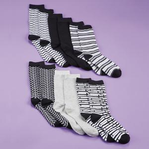 Mio Marino Ladies Socks - Set of 6