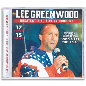 Lee Greenwood Greatest Hits Live in Concert CD