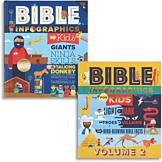 Bible Infographics Book for Kids - Volume One