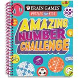 Brain Games Puzzles for Kids Amazing Number Challenge Book