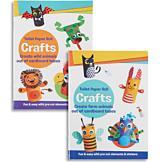 Toilet Paper Roll Crafts Book - Wild Animals