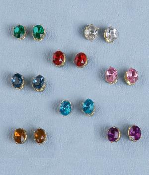 Sparkle Earring Collection - 8 Pairs