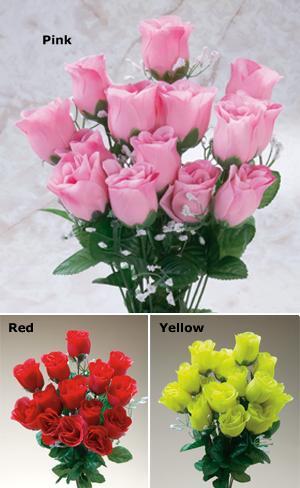 Everlasting Rosebud Bouquet - Each