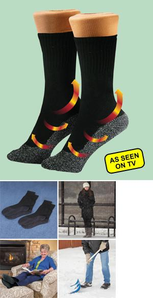35 Degree Below Socks - 2 Pairs Small-Medium