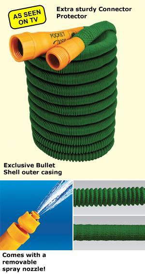Pocket Hose Bullet - 50'