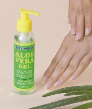 96% Aloe Vera Gel - 4-oz.