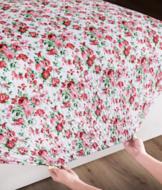 Bed Tite Floral Sheets - King Set