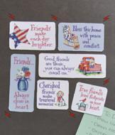 Stars 'n' Stripes Friendship Magnets - Set of 6