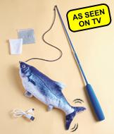Flippity Fish Cat Toy