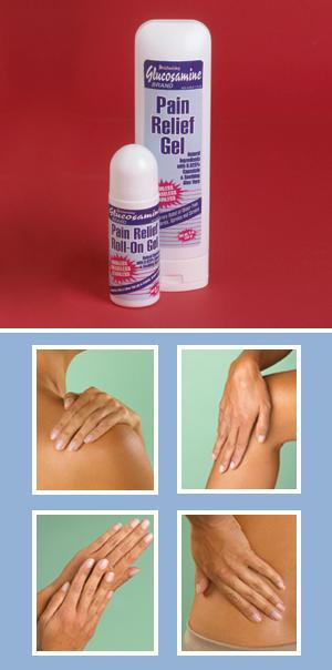 Glucosamine Pain Relief Gel - 9-oz. Gel