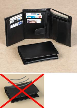 RFID-Blocked Security Wallet