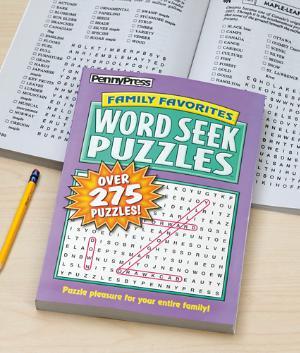 Word Seek Puzzle Book