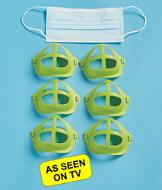 Cool Turtle Mask Inserts - Set of 6