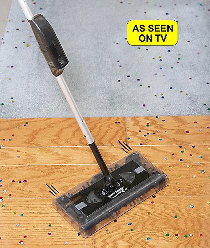 Cordless Powered Swivel Sweeper