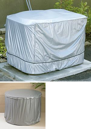 Round Outdoor A/C Cover