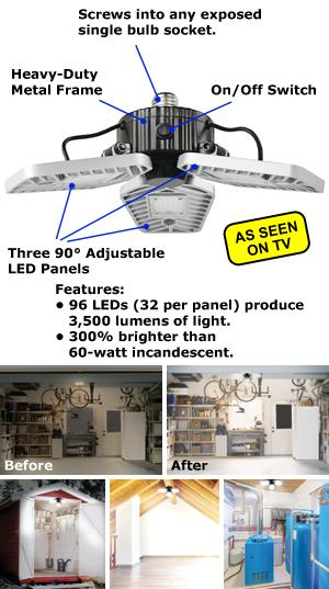 Beyond Bright LED Light