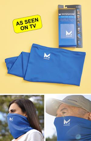 Mission Cooling Face and Neck Gaiter