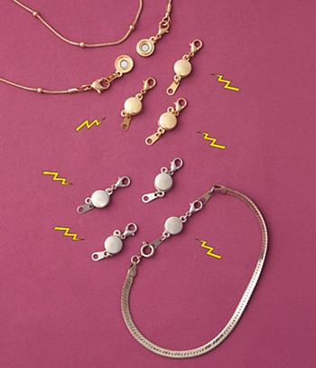 Magnetic Jewelry Clasps - Each Set of 4