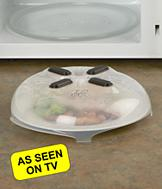 Hover Cover Microwave Spatter Guard