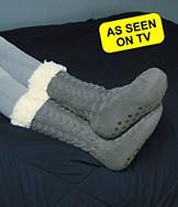 Huggle Socks - Gray
