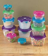 10-Pc. Locking Container Set - Square