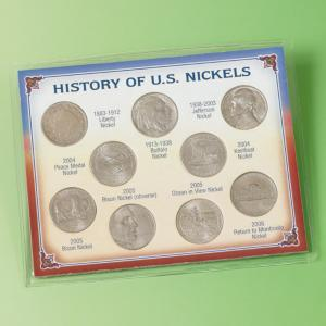 History of U.S. Nickels Collector's Set