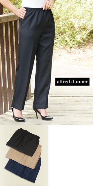 Alfred Dunner Slacks - Misses Short (Inseam 28)