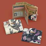Buxton Floral RFID Wallet - Cream
