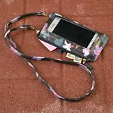 Buxton Floral-Print RFID Phone Holder