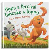 Four Peppy Puppies Book