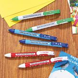 Holiday Message Pens - Set of 6