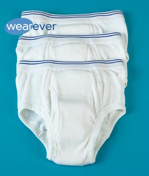 Men's Incontinence Briefs - Pack of 3