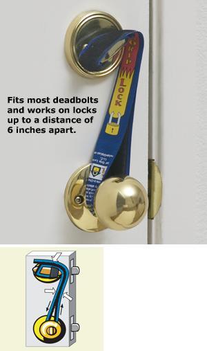 Super Grip Lock Safety Strap