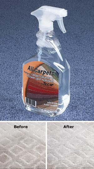 All Carpets Cleaner and Spot Remover