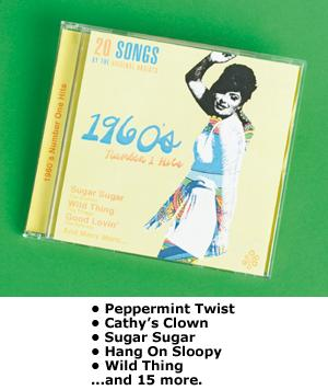 1960's Number 1 Hits CD