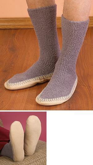 Nonskid Sock-Slippers